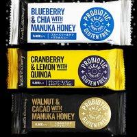 チアバーブルーベリーとマヌカハニー Chia Bar - Blueberry and Manuka Honey (3個入りパック)「ぷちぷちした食感が楽しい!栄養満点!」