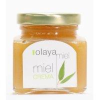 ハチミツ オラヤ ミエル クリーム蜂蜜(ユーカリ)(エリカ)スペイン北部の海岸線に近いオビエドの町で、養蜂好きが高じて本格的なオーガニック養蜂を始めたまだ小さな生産者です。