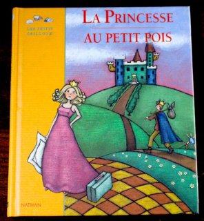 La princesse au petit pois「エンドウ豆の上に寝たお姫さま」  Semelet Camille