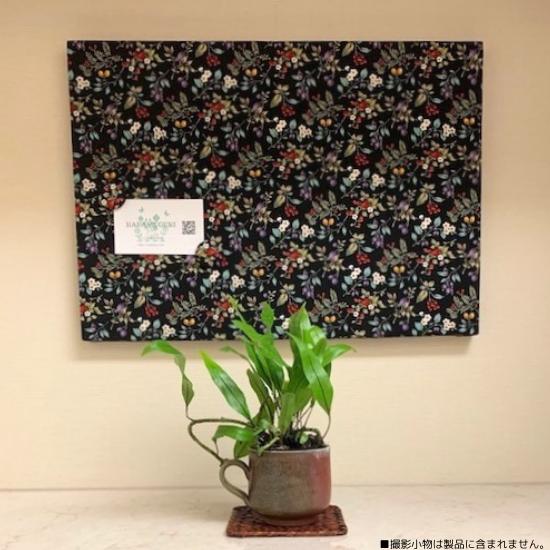 ボタニカルブラック小花
