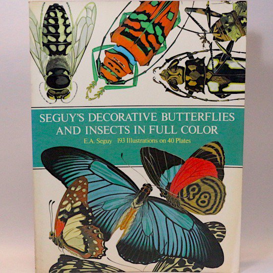 Seguy's Decorative Butterflies and Insects in Full Color  E.A.Seguy(ユージン・アラン・セギー)
