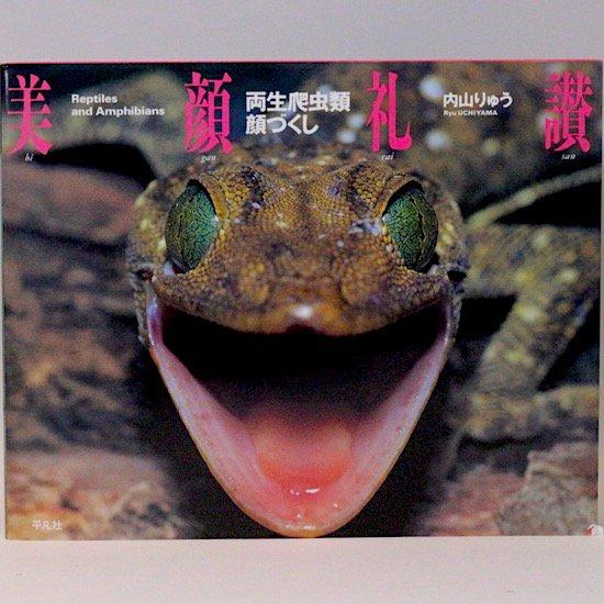 美顔礼讃—両生爬虫類顔づくし—  内山りゅう