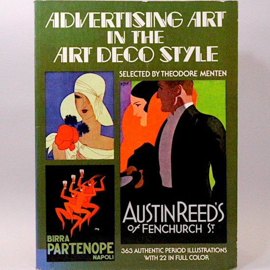 Advertising Art in the Art Deco Style (Picture Archives S.)  Theodore Menten/編