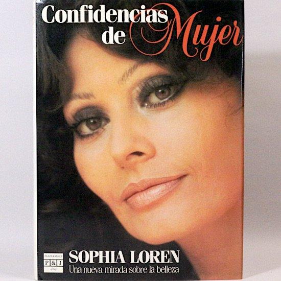 <img class='new_mark_img1' src='https://img.shop-pro.jp/img/new/icons15.gif' style='border:none;display:inline;margin:0px;padding:0px;width:auto;' />Confidencias De Mujer Sophia Loren(ソフィア・ローレン)