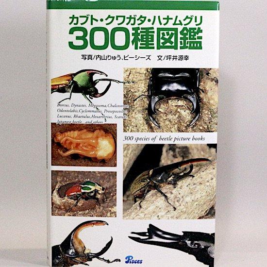 カブト・クワガタ・ハナムグリ300種図鑑 坪井源幸 内山りゅう ピーシーズ/写真
