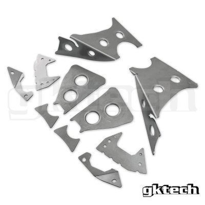 GK Tech リアメンバー溶接補強プレート S14/S15/R33/R34