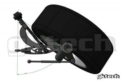 GK Tech S14/S15/R33/R34 テンションロッド