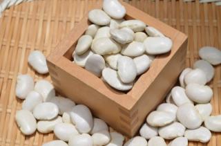 【宅急便】令和2年産・新豆<br>北海道産 白花豆 シロハナマメ 豆レシピ付き