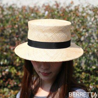 【5月中旬頃お届け予約販売】BERRETTA(ベルレッタ) ベルレッタスタイル 黒リボン 2サイズ(S、M) / バオ 箱付き