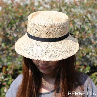 【5月中旬頃お届け予約販売】BERRETTA(ベルレッタ) マープルクロッシュ 黒テープ 2サイズ(S、M) / バオ 箱付き