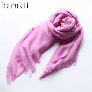 harukii ハルキ うかしガーゼストール L ライラックピンク Lilac Pink