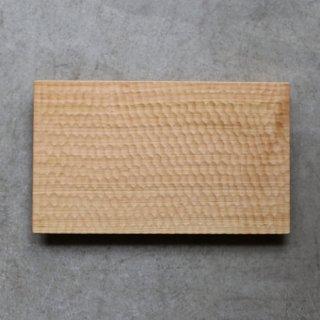 高塚和則 木工房玄 さくらトレー はちのす彫り