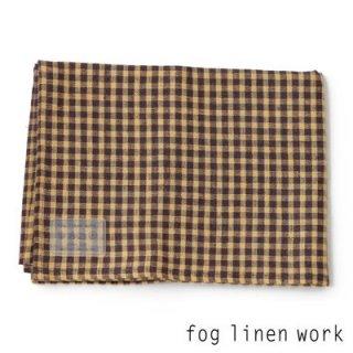 【3点までゆうパケット可】fog linen work(フォグリネンワーク) リネンキッチンクロス ニコル/ランチョンマット キッチンタオル LKC001-YEBR