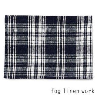 【3点までゆうパケット可】fog linen work(フォグリネンワーク) リネンキッチンクロス CLARE クレア/ランチョンマット キッチンタオル LKC001-NAPL
