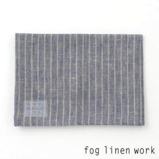 【3点までゆうパケット可】fog linen work(フォグリネンワーク) リネンキッチンクロス ネイビーストライプ/ランチョンマット キッチンタオル LKC001-NVST