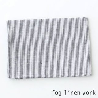 【3点までゆうパケット可】fog linen work(フォグリネンワーク) リネンキッチンクロス ホワイトシアサッカー/ランチョンマット キッチンタオル LKC001-SSWS