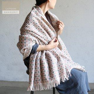 LAPUAN KANKURIT ラプアン・カンクリ ウールブランケット CORONA ローズ / コロナ【送料無料】
