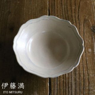 伊藤満 pieno 輪花鉢(中) ボウル 深皿 ito mitsuru