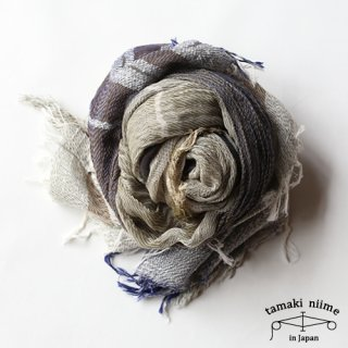 tamaki niime 玉木新雌 basic shawl cotton big 09 / ベーシックショール コットン ビッグ 09 【送料無料】