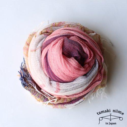 tamaki niime 玉木新雌 basic shawl cotton big / ベーシックショール cotton100%