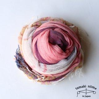 tamaki niime 玉木新雌 basic shawl cotton big 05 / ベーシックショール コットン ビッグ 05 【送料無料】