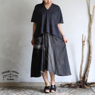 tamaki niime(タマキ ニイメ) 玉木新雌 only one chotan skirt CTN18 cotton100% オンリーワン チョタンスカート コットン100%