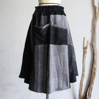 tamaki niime(タマキ ニイメ) 玉木新雌 only one chotan skirt wool CTN_W03 オンリーワン チョタンスカート ウール70% コットン30% 【送料無料】