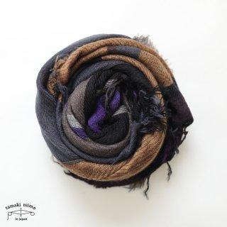 tamaki niime 玉木新雌 roots shawl wool middle RSM_W103/ ルーツショール ウール70% コットン30% ミドルサイズ