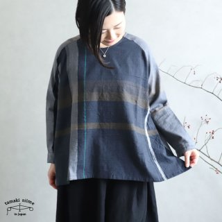 tamaki niime 玉木新雌 only one fuwa-T rag cotton 100% FTR_08 / オンリーワン フワT ラグ