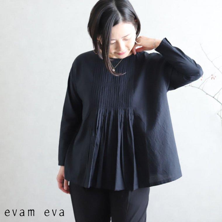 evam eva(エヴァム エヴァ) ファインプリーツプルオーバー