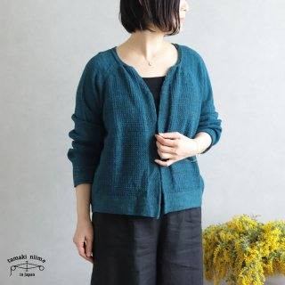 tamaki niime(タマキ ニイメ) 玉木新雌 only one CA knit ぽく poku_06 カニット コットン100%