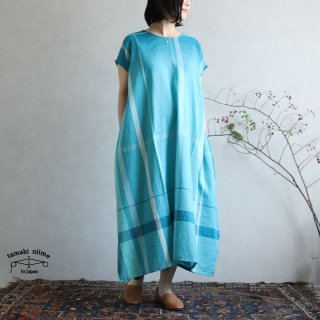 tamaki niime 玉木新雌 only one fuwa-T long 丸首(前後無し) cotton 100% FTL67 / オンリーワン フワT ロング コットン100%