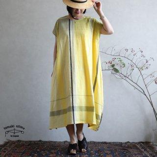 tamaki niime 玉木新雌 only one fuwa-T long 丸首(前後無し) cotton 100% FTL64 / オンリーワン フワT ロング コットン100%
