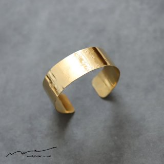 accessories mau (アクセサリー マウ)  平打ちbrass bangle(2cm)