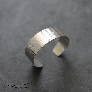 accessories mau (アクセサリー マウ)  平打ちsilver bangle(2cm)
