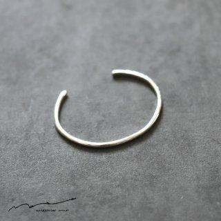 accessories mau (アクセサリー マウ)  細 silver bangle