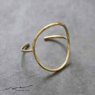 accessories mau (アクセサリー マウ)  わっか brass bangle