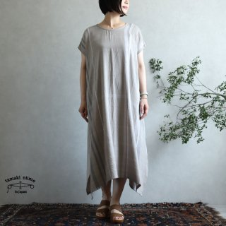 tamaki niime 玉木新雌 only one fuwa-T long 丸首(前後無し) cotton 100% FTL75 / オンリーワン フワT ロング コットン100%