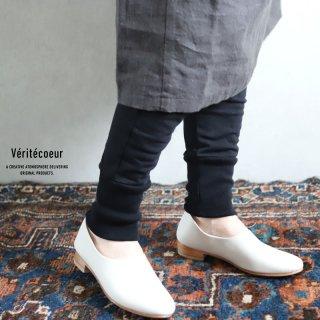 Veritecoeur(ヴェリテクール)【2020AW新作】天竺パンツ BLACK / VCC-362