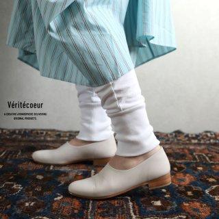 Veritecoeur(ヴェリテクール)【2020AW新作】天竺パンツ WHITE / VCC-362