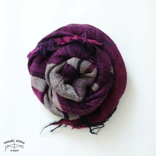 tamaki niime 玉木新雌 roots shawl wool middle RSM_W119/ ルーツショール ウール70% コットン30% ミドルサイズ