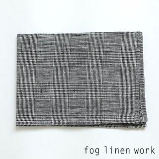 【3点までゆうパケット可】fog linen work(フォグリネンワーク) リネンキッチンクロス グレン/ランチョンマット キッチンタオル LKC001-GLEN
