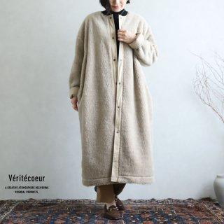 Veritecoeur(ヴェリテクール)【2020AW新作】フリース コート(リバーシブル) BEIGE / VCC-366