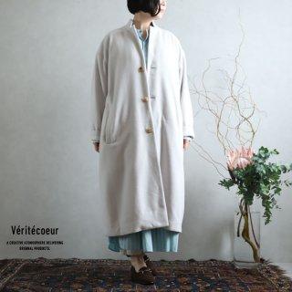 Veritecoeur(ヴェリテクール) ウールカシミヤ コート BEIGE / VC-2236