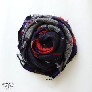 tamaki niime 玉木新雌 roots shawl wool middle RSM_W124/ ルーツショール ウール70% コットン30% ミドルサイズ