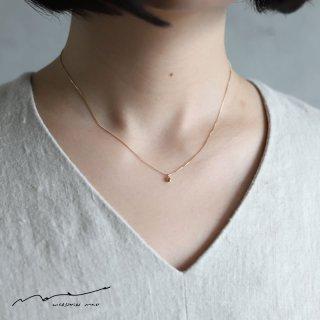 accessories mau (アクセサリー マウ)  ダイヤモンド変形ネックレス A