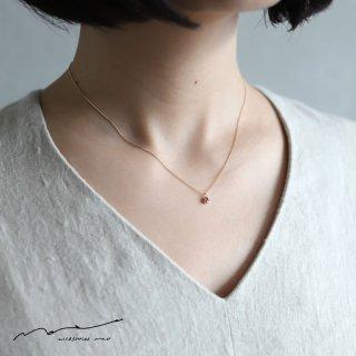 accessories mau (アクセサリー マウ)  ダイヤモンド変形ネックレス B