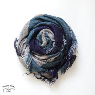 tamaki niime 玉木新雌 roots shawl wool middle RSM_W134/ ルーツショール ウール70% コットン30% ミドルサイズ
