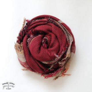 tamaki niime 玉木新雌 roots shawl wool middle RSM_W135/ ルーツショール ウール70% コットン30% ミドルサイズ