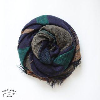 tamaki niime 玉木新雌 roots shawl wool middle RSM_W136/ ルーツショール ウール70% コットン30% ミドルサイズ
